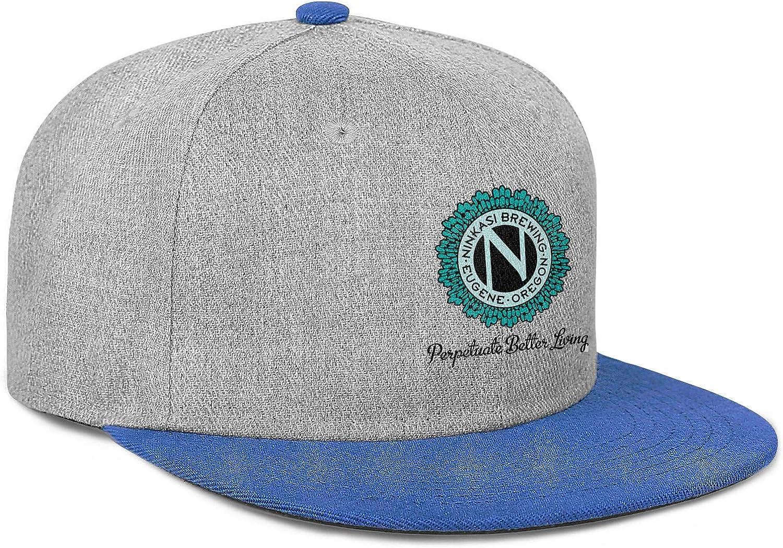 Ninkasi Brewing Company Men Women Wool Ball Cap Adjustable Snapback Sports Hat
