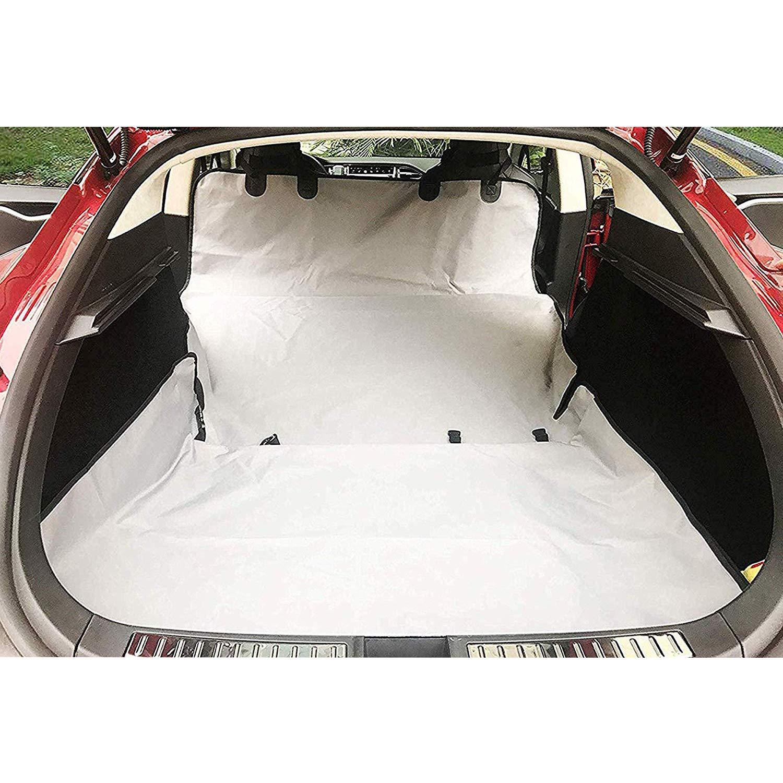 BMZX Coprisedili Auto con Amaca per Animali Domestici Resistente a Prova di Graffi Auto Tronco Pet Cargo Cover Posteriore Pet coprisedili per Tesla Model S Model 3