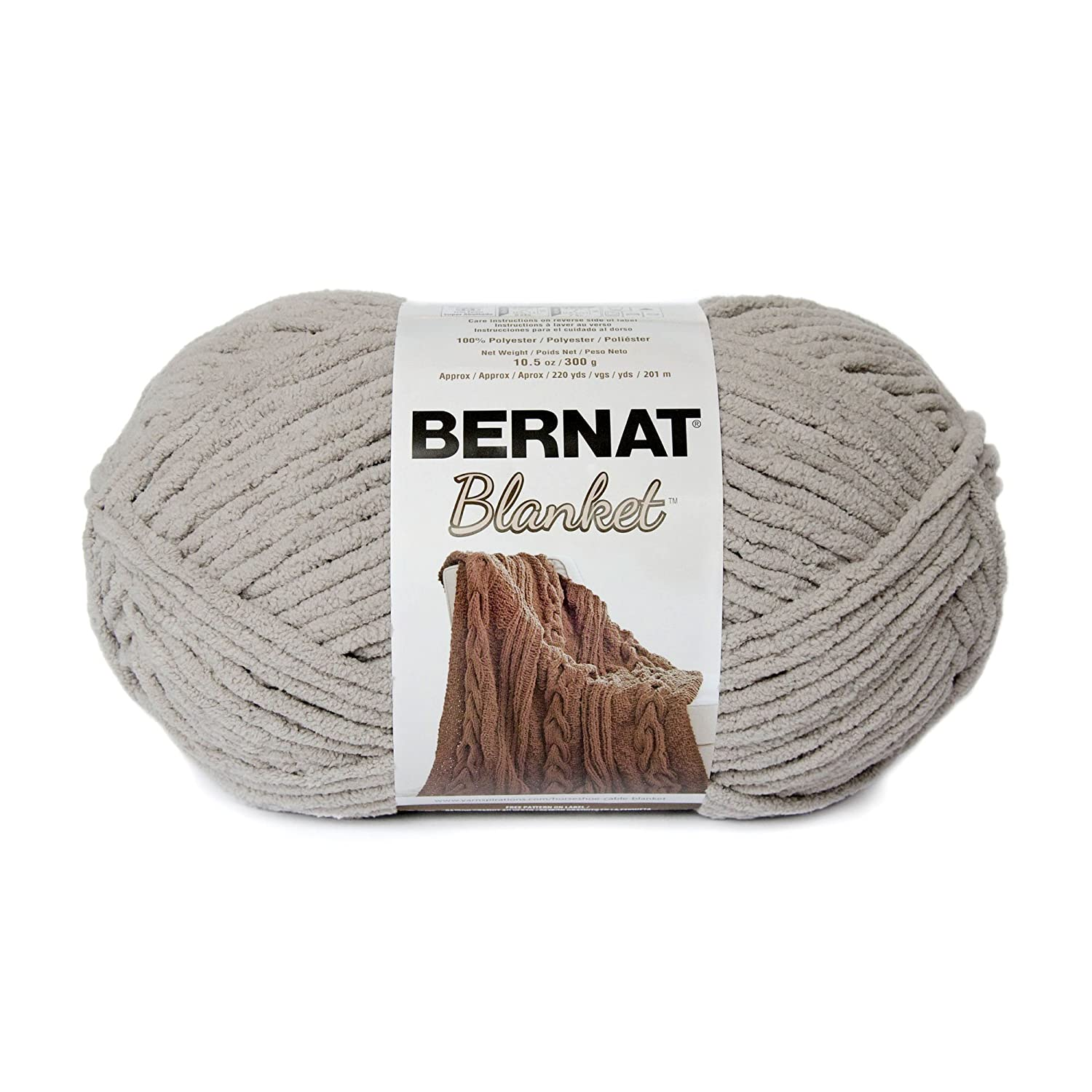 Bernat Blanket Big Ball Yarn (10203) Mallard Wood, Mallard Wood 1481 West Second Street 16111010203