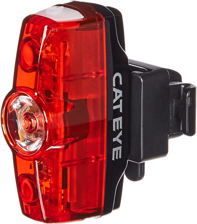CAT EYE – Rapid Mini Rear Rechargeable LED Bike Safety Tail Light, 25 Lumens