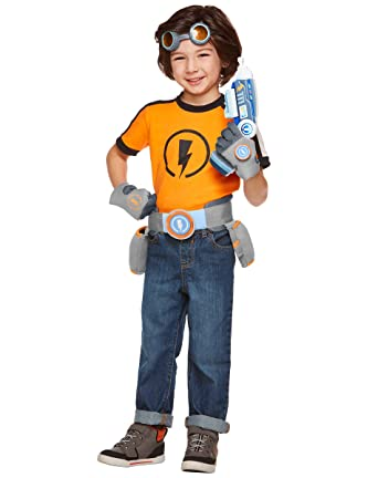 Spirit Halloween Toddler Rusty Rivets Costume - Rusty Rivets  sc 1 st  Amazon.com : spirit halloween baby costumes  - Germanpascual.Com