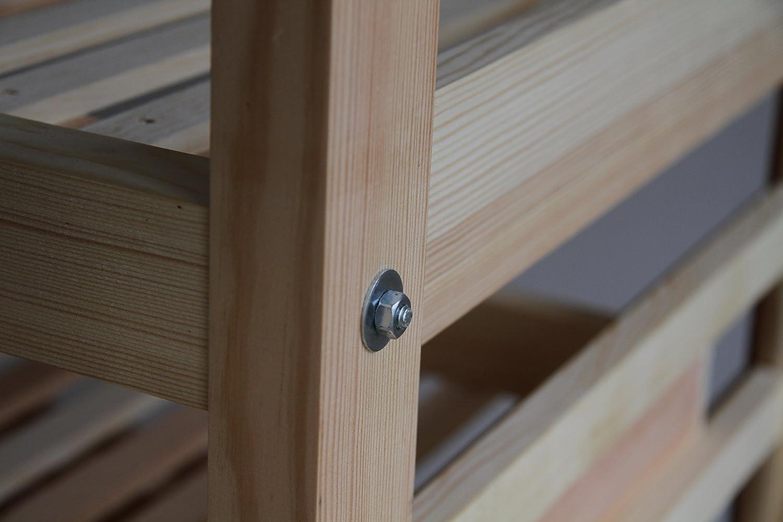 Obstregal - Apfelhorde (10 Fächer) aus Holz (Kiefer massiv): Amazon ...