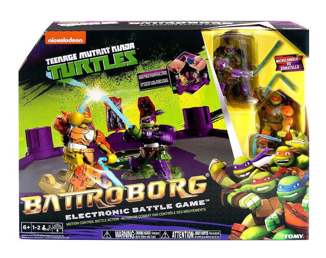TOMY Caja Ninja Turtles 2 Battroborg Robots y Batalla en la ...