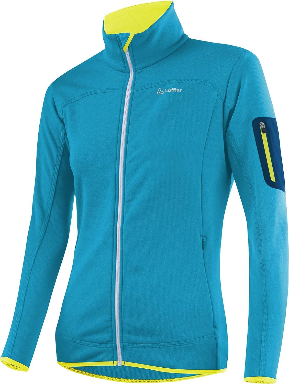 LÖFFLER Stretchfleece Jacket Women - Topaz Blue