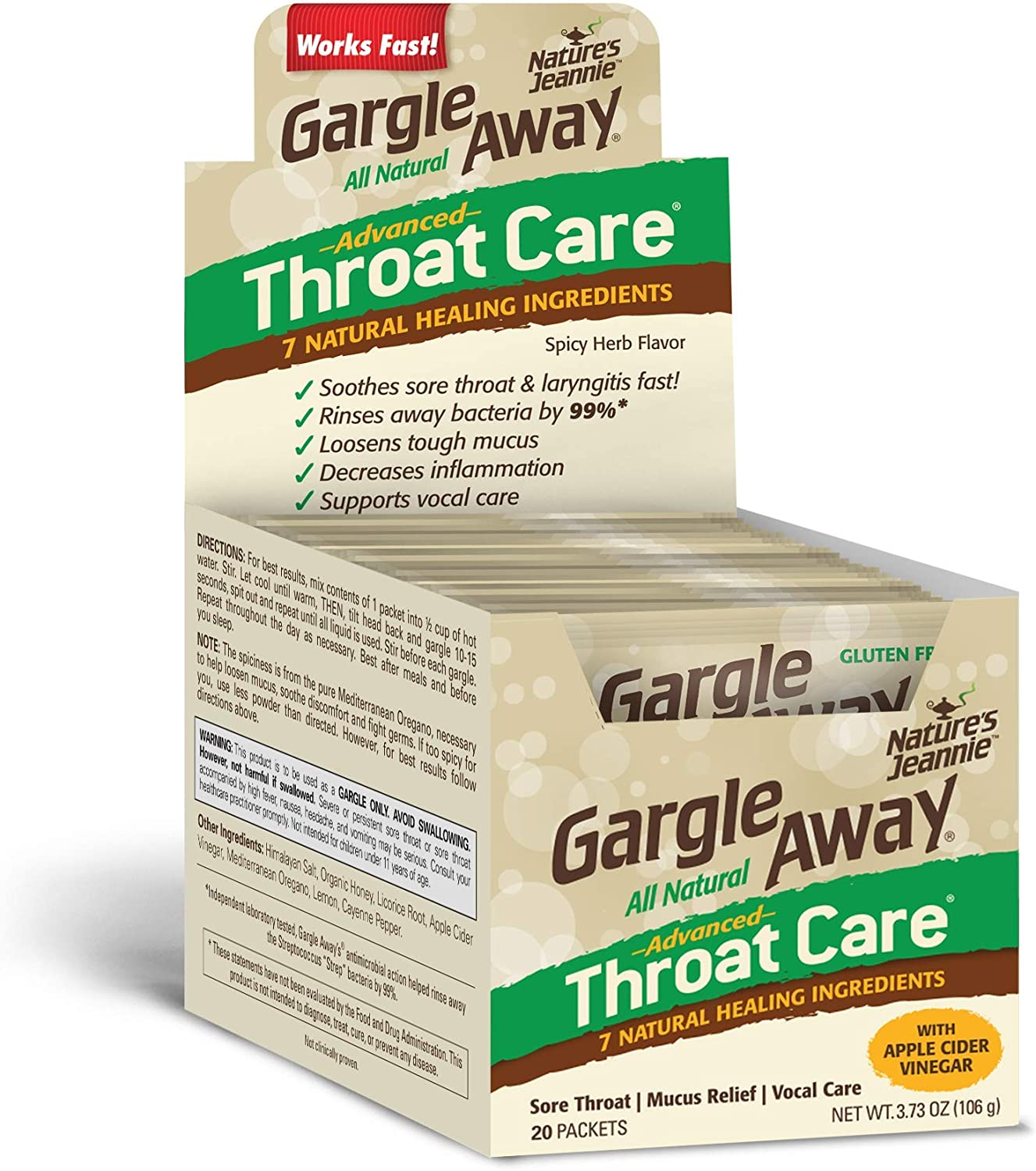 itchy sore throat and deep voice