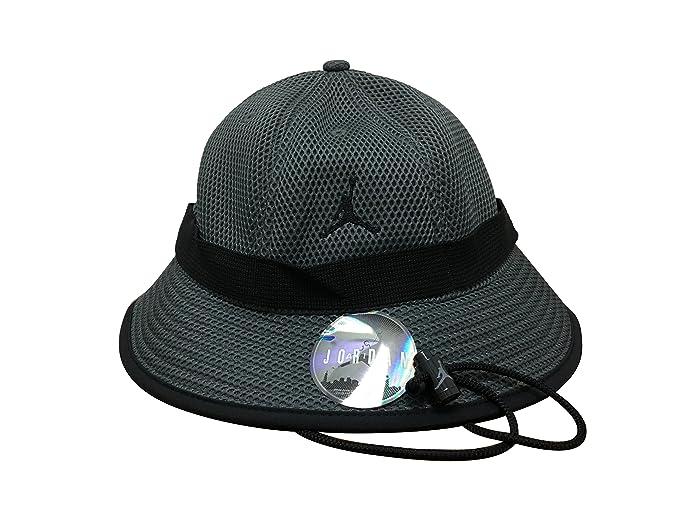 e114ab6aa96 ... promo code jordan jumpman jersey net bucket hat s m grey black cf375  88a69