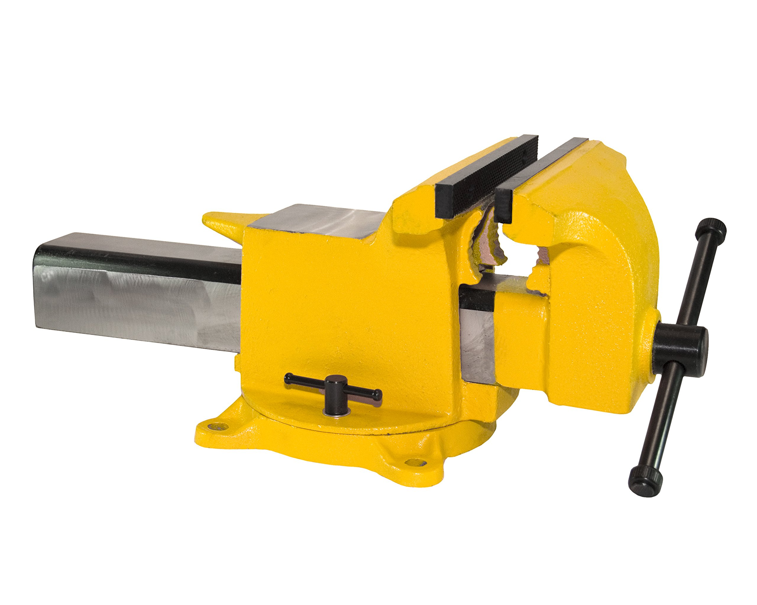 Yost Vises 906-HV 6'' High-Visibility Heavy Duty Steel Bench Vise