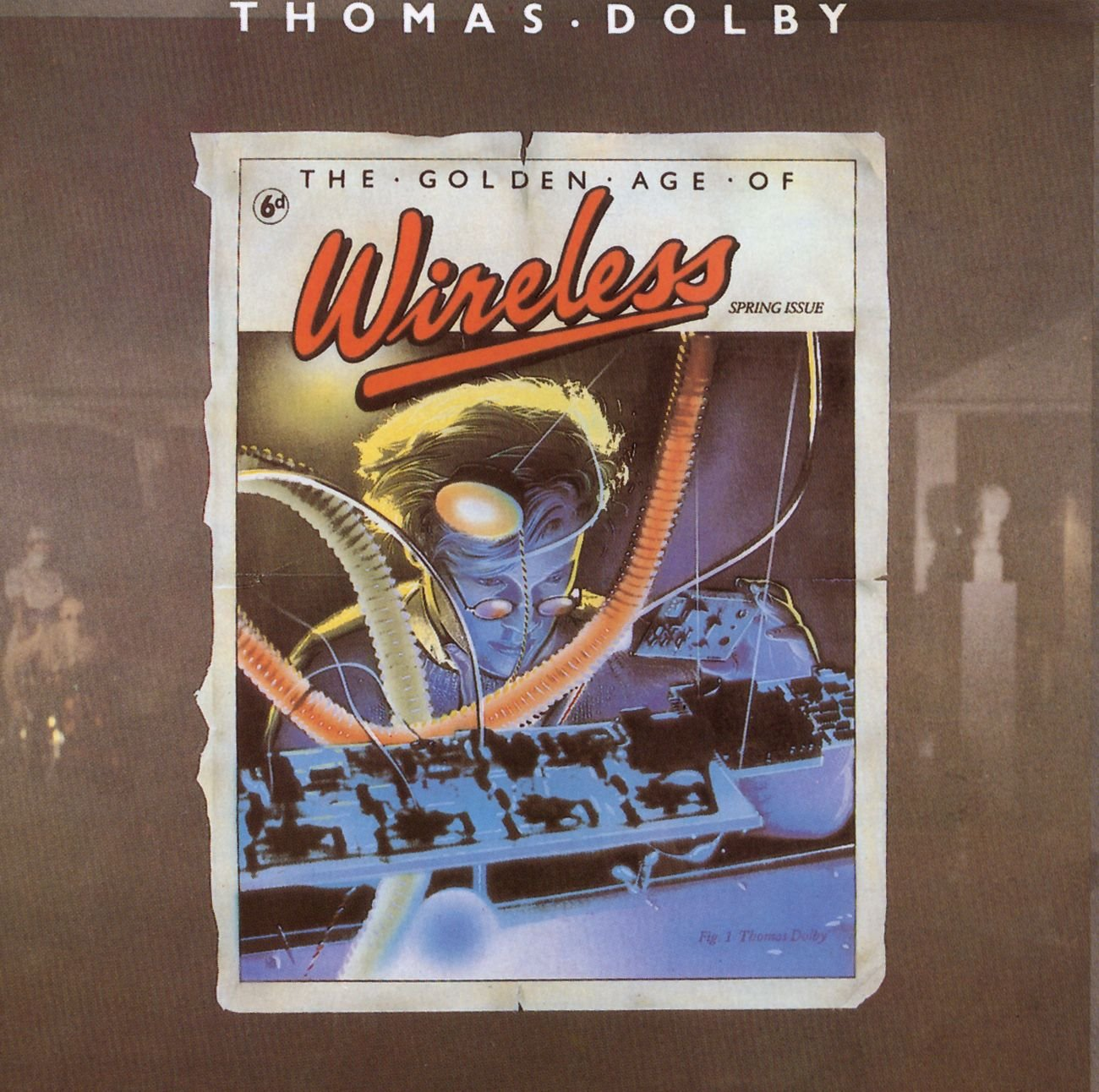 thomas dolby, classic review, review, the golden age of wireless, pop, Indie, kmmr, kmmreview