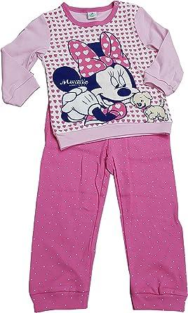 Pijama Infantil de Minnie de algodón cálido para Mujer. (Art ...