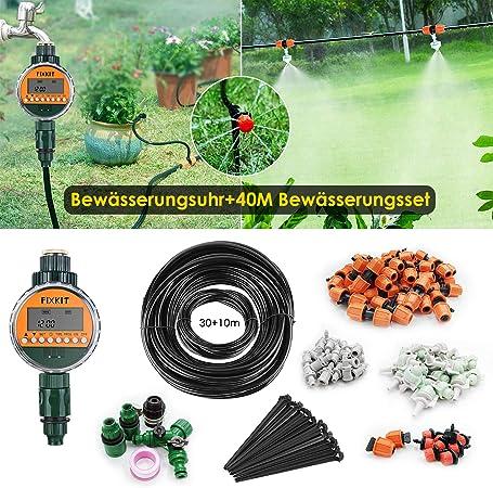 Vanne d/'irrigation 5mm filetés Micro Irrigation x 5