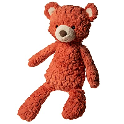 Mary Meyer Putty Stuffed Animal Soft Toy, 17-Inches, Medium Coral Bear: Toys & Games