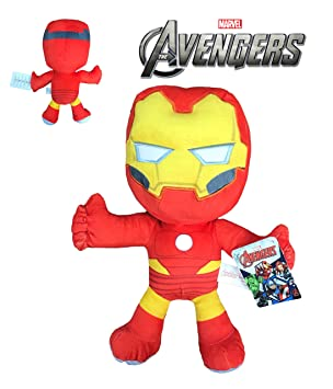 Marvel - Peluche Iron Man 30cm Calidad super soft
