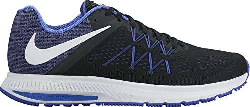 d263fbb231fc Nike Men s Zoom Winflo 3 Black-Pa Blu Running Shoes-7 UK India (41 ...