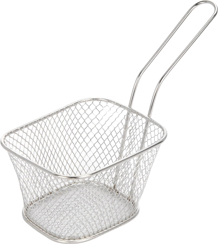 Juego de 4 cestas pequeñas para patatas fritas para la freidora para servir alimentos: Amazon.es: Hogar