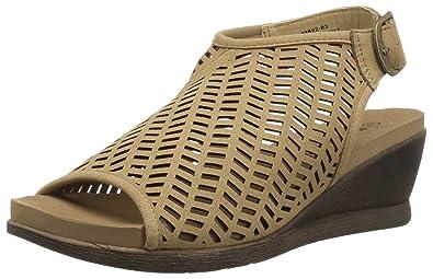 5528db4122 Amazon.com: BEARPAW Women's Roxie Sandal: Shoes