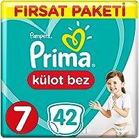 Prima Külot Bebek Bezi, 7 Beden, 42 Adet, XX Large Fırsat Paketi