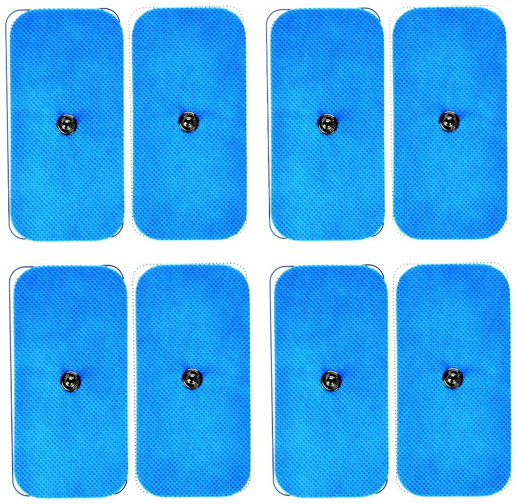 Bluetens ELEC Electrodos TENS EMS M pack azul m