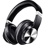 Hybrid Active Noise Cancelling Headphones, vankyo C751 Over Ear Wireless Bluetooth Headphones with CVC 8.0 Mic, Deep Bass, Hi