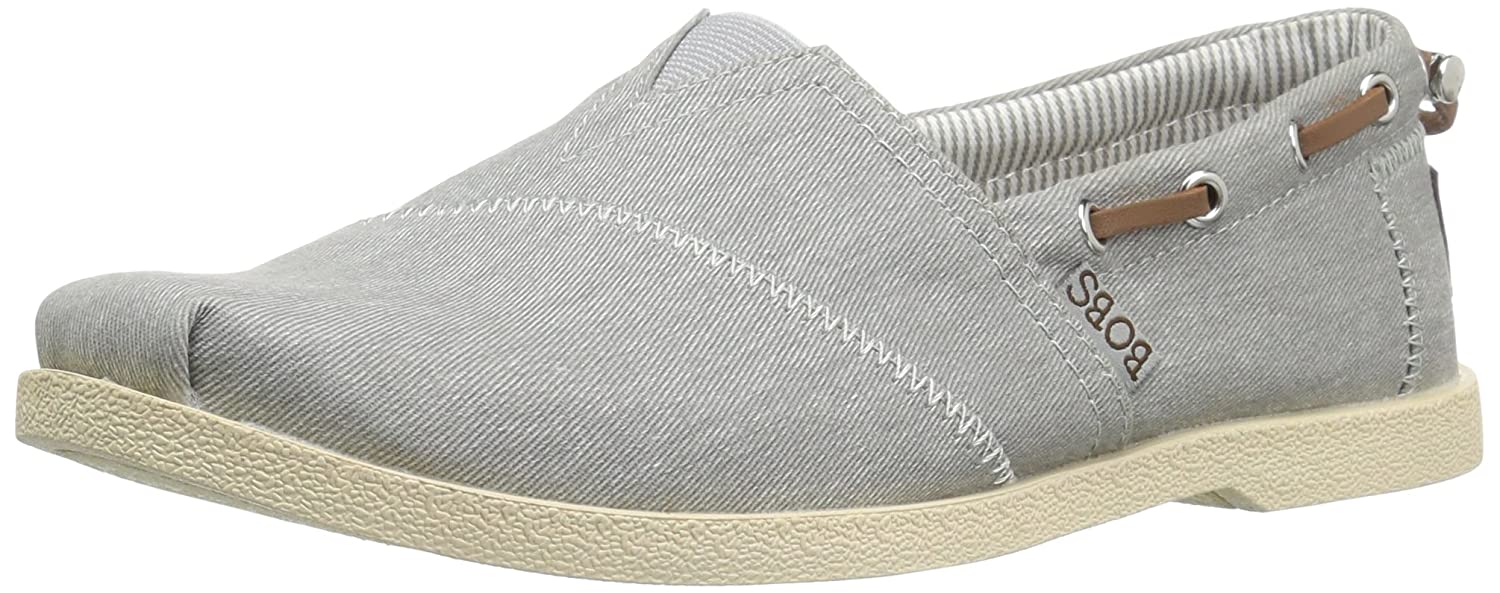 Skechers BOBS from Women's Chill Luxe Flat B01J8N2AJ8 11 B(M) US|Gray