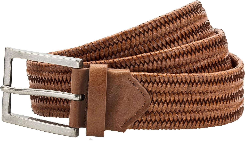 Asquith /& Fox Mens Leather Braid Belt