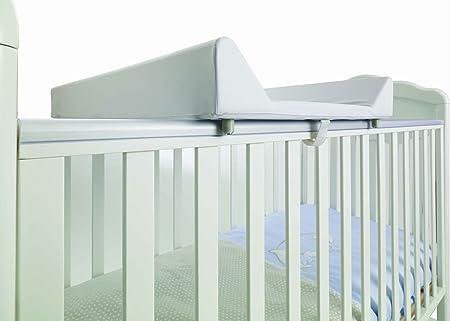 Italbaby- Cambiador de PVC, 2lados, fondo duro, 050.6015 Bianco