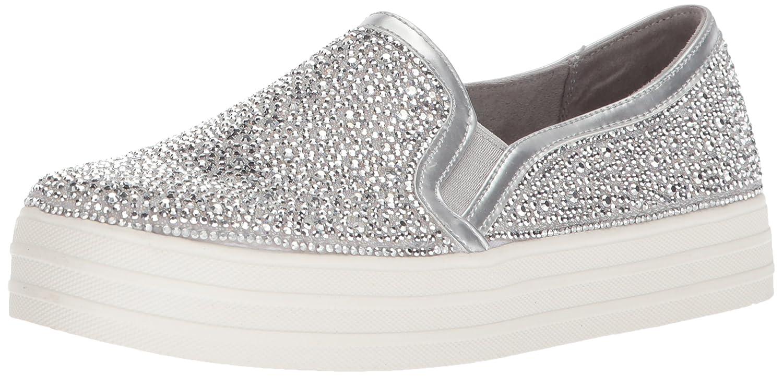 Skechers Women's Double up-Glitzy Gal Sneaker B075ZY64M5 11 B(M) US|Sil