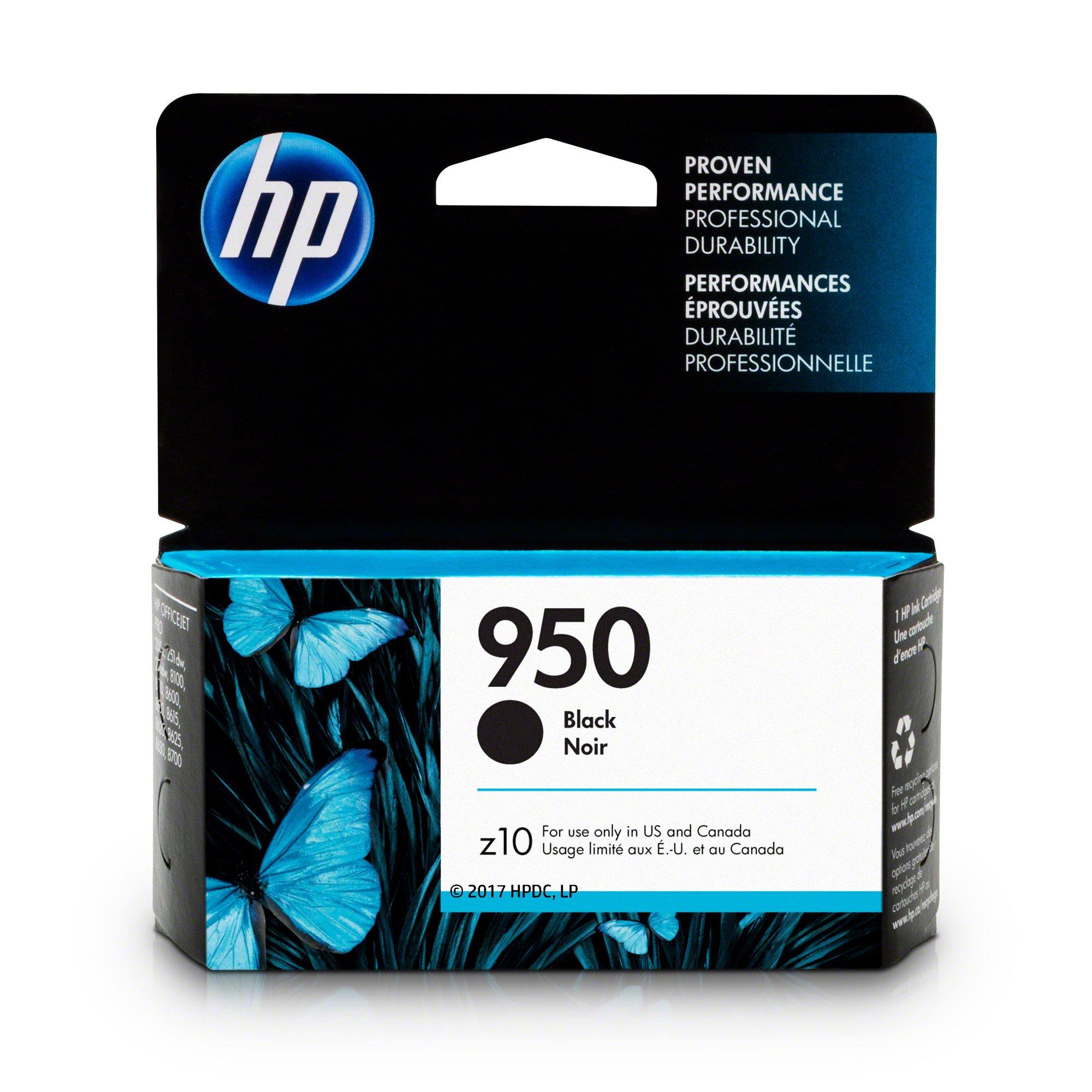 HP CN049AN#140 950 Black Ink Cartridge (CN049AN) for Officejet Pro 251, 276, 8100, 8600, 8610, 8620, 8625, 8630 by HP