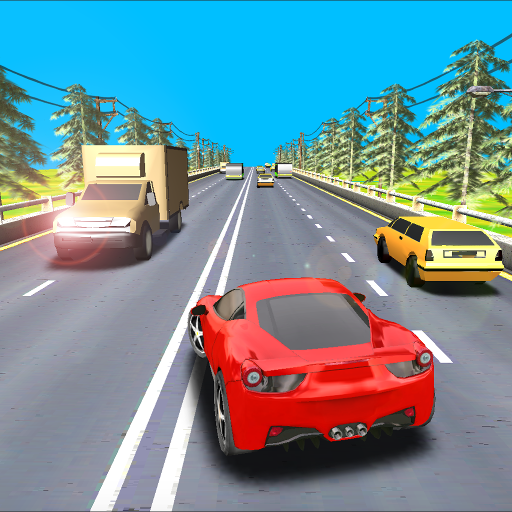 Game Racer Lego Free - Highway Car Racing Game