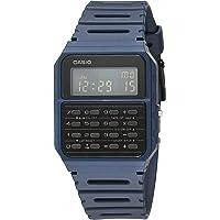 Casio Data Bank Quartz Watch with Resin Strap, Blue, 24.1 (Model: CA-53WF-2BCF)