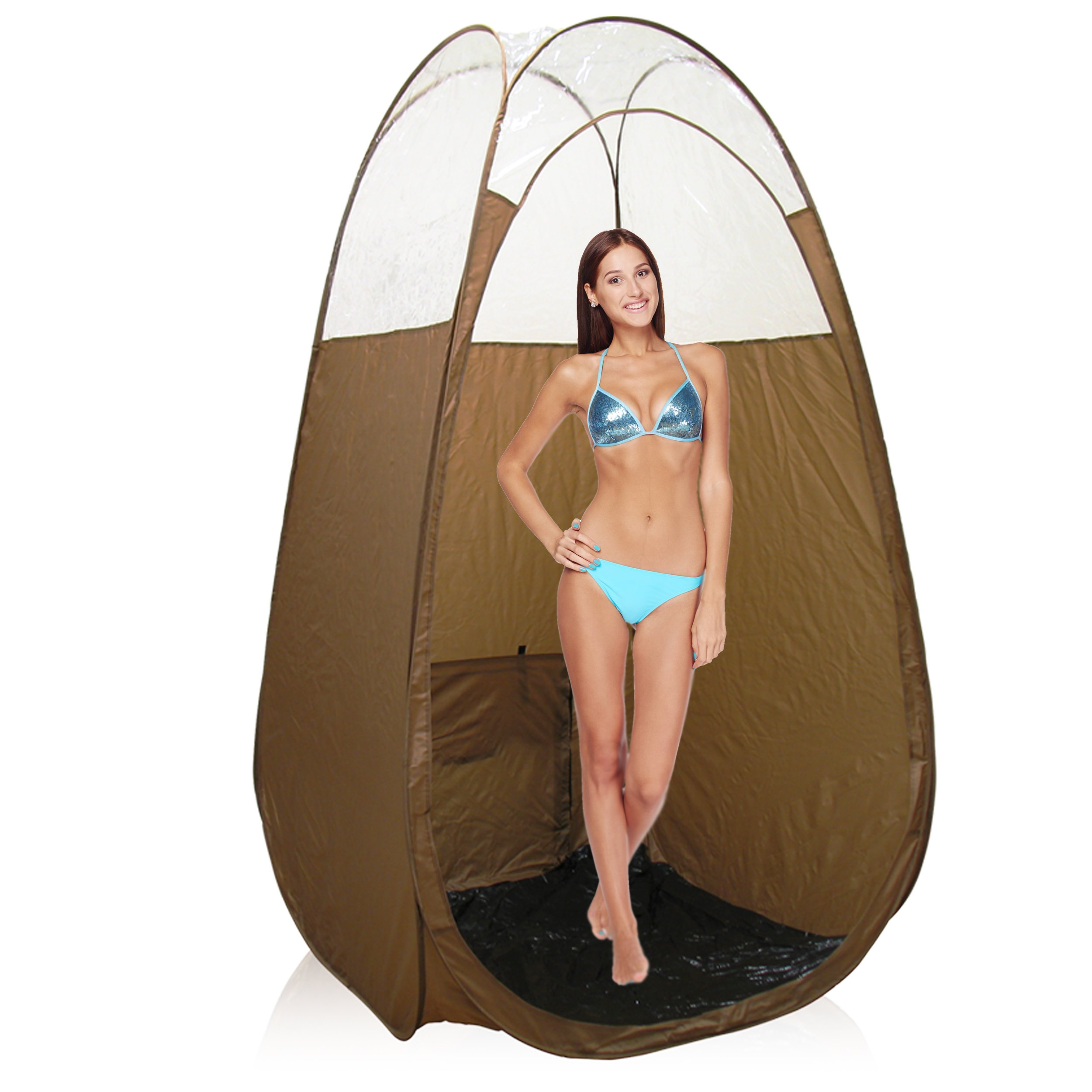 Aura Allure Spray Tanning Machine System with Norvell Airbrush Tan Solution Sunless Pro Kit Bundle and Bronze Pop Up Tent by Aura (Image #6)