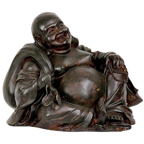 Oriental Furniture 5 Sitting Happy Buddha Statue
