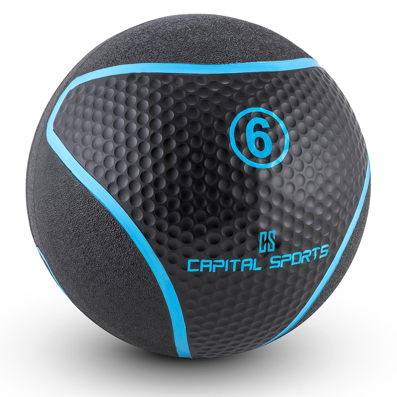 Capital Sports Medba 6 Balón medicinal 6kg (Adecuado para ...