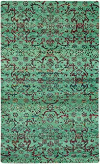 "product image for Capel Round About-High Wire Honeycrisp 5' 0"" x 8' 0"" Rectangle Hand Knotted Rug"
