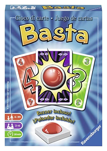 Ravensburger Card Game Basta Juego De Mesa Amazon Com Mx Juegos Y