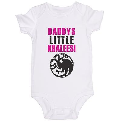 """""""Daddy's Little Khaleesi"""" / Game of Thrones / Cute Baby Onesie"""
