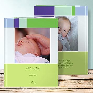 Fotobuch Taufe Farbspiel 40 Seiten Hardcover 234x296 Mm