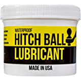 Mission Automotive 4oz Trailer Hitch Ball Lubricant - Grease to Reduce Friction and Wear on Tow Hitch Mount Balls, King…