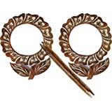 Easter Day Gifts Set Of 2 Wooden Curtain Tiebacks with Tree of Life Shaped Decorative Curtain Holdback Window Treatment