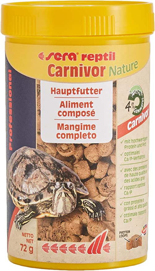 Sera 01820 Profesional Carnivor Alimento reptiles carnívoros - 01820 - 250 ml (72 g)