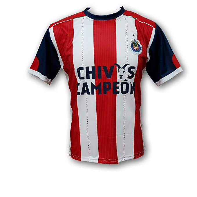 Amazon.com: Chivas del Guadalajara Home Jersey, 12 estrellas ...