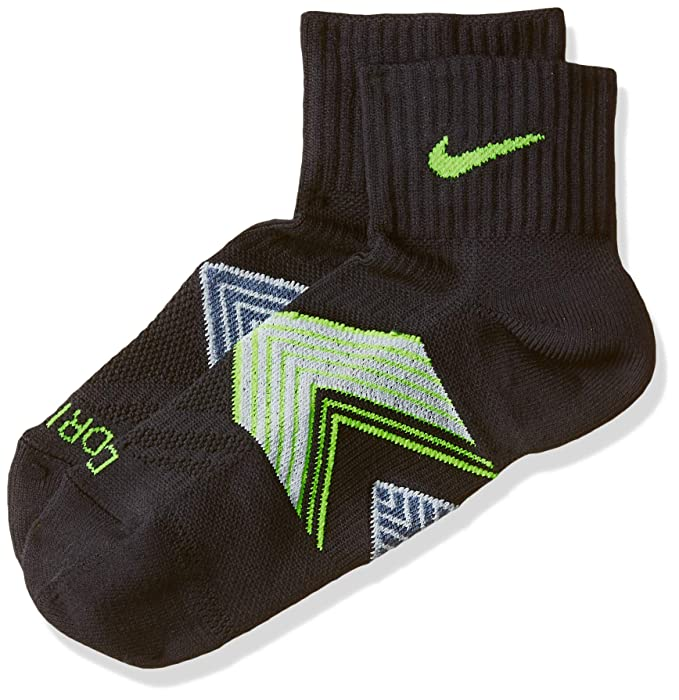 Nike One-Quarter Socks Running Dri Fit Cushioned Calcetines, Unisex