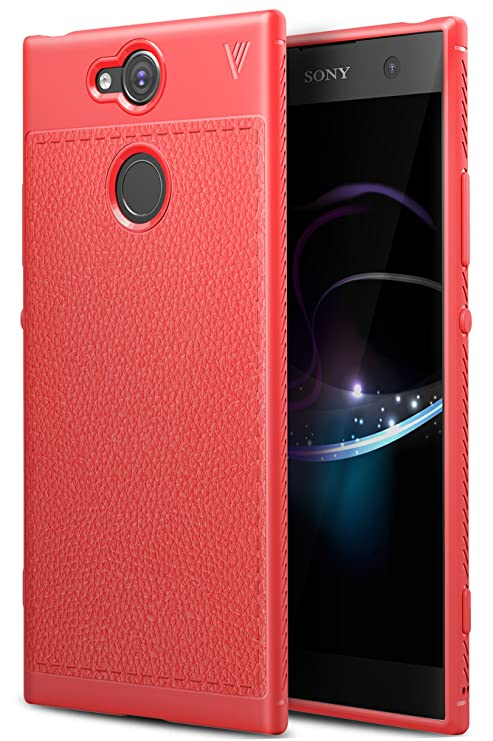 Sony Xperia XA2 Funda, iBetter anti-rasca la Carcasa alta calidad TPU de la imitación ninguna Case del teléfono móvil caja del teléfono Cover para ...