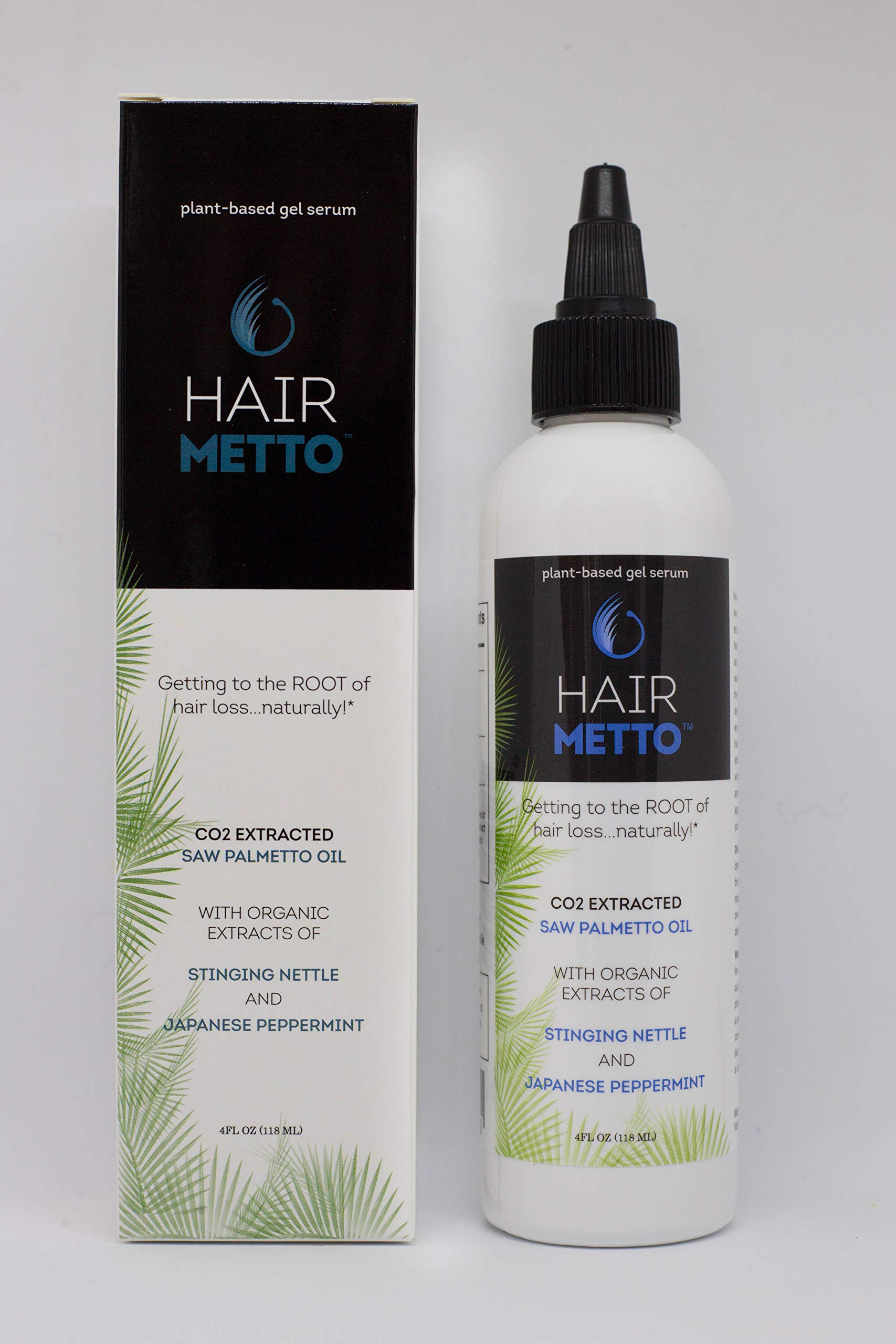 HAIRMETTO Saw Palmetto Stinging Nettle SERUM for Hair Growth, Hair Regrowth, Alopecia, Hair Loss, Baldness Treatment, DHT Blocker, Androgen Blocker, Hair Follicle Stimulator Oil for Hair Regeneration