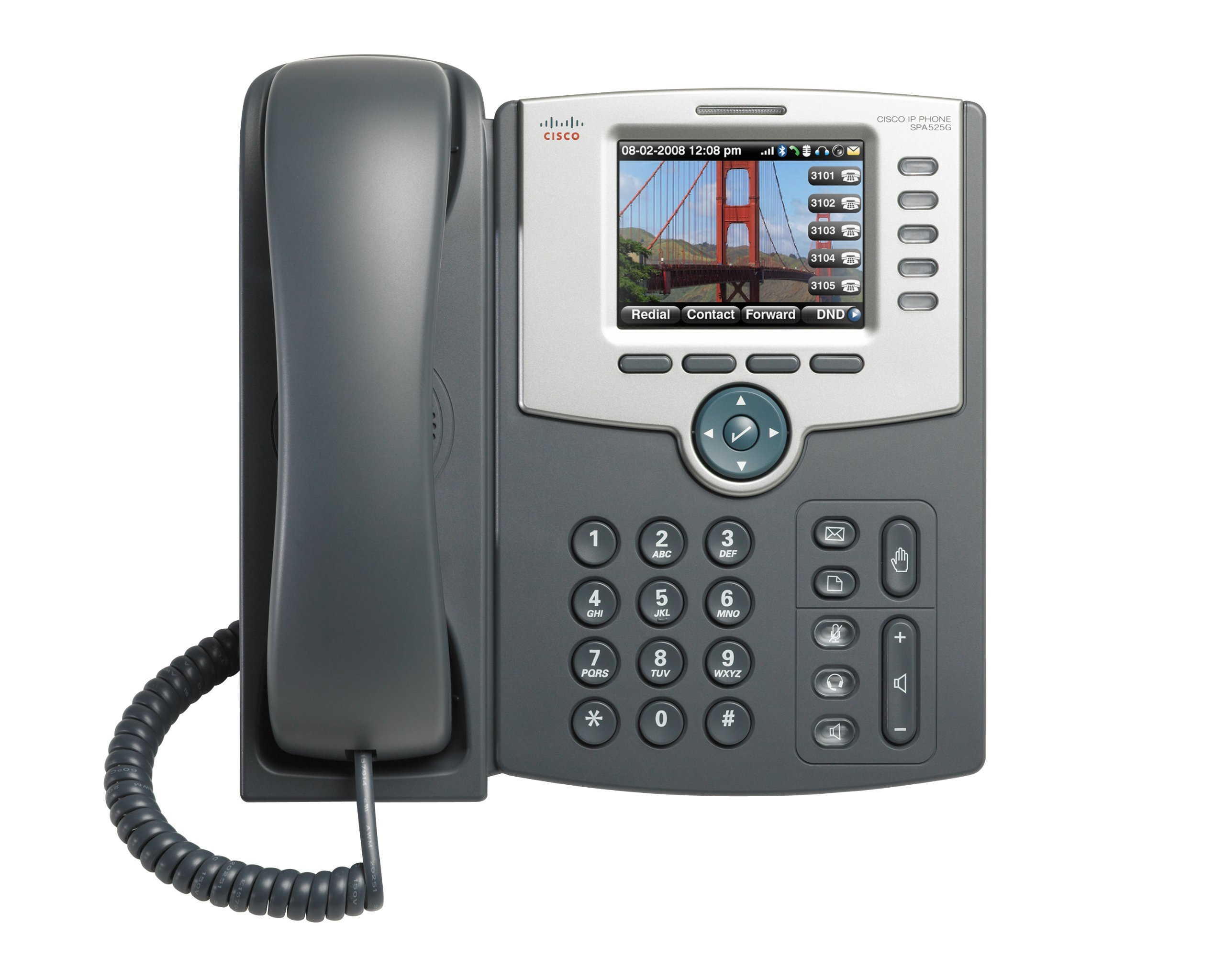 Cisco SPA525G2 5-Line IP Phone Without Power Supply (Renewed) by Cisco