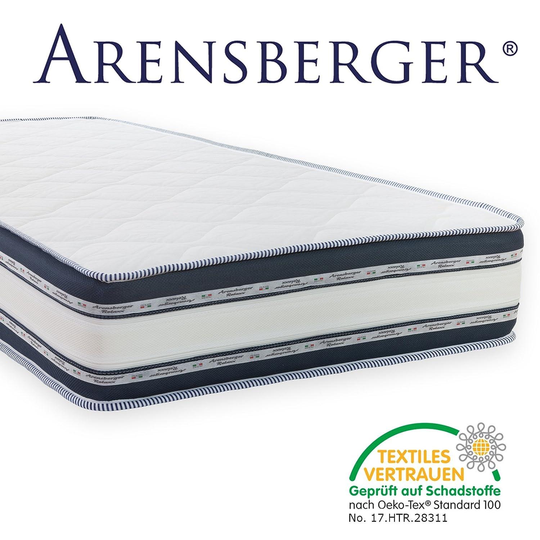 Arensberger ® Relaxx 9 Zonen Wellness Matratze mit 3D-Memory Foam ...