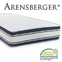 Arensberger ® Relaxx 9 Zonen Wellness Matratze mit 3D-Memory Foam, Verschiedene Größen, DREI Schichten: Kaltschaum + Visco Smart Schaum + Gel Schaum