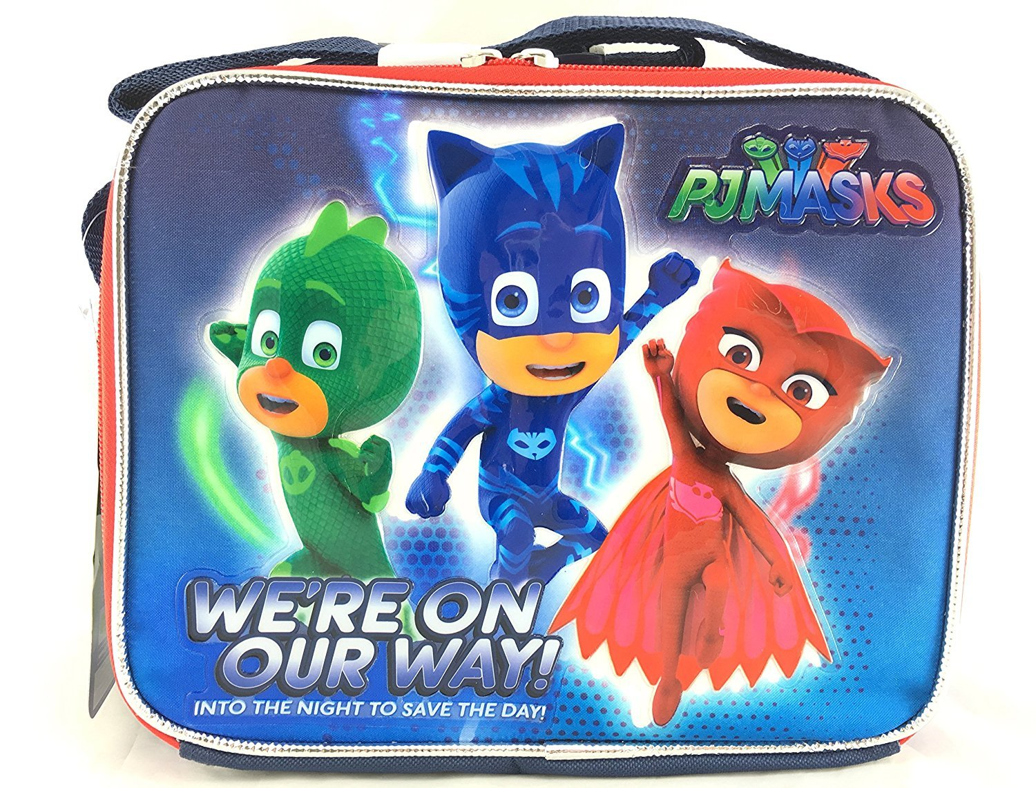 Disney Junior Pj Masks We're on our ways! Lunch Bag Accessory Innovations