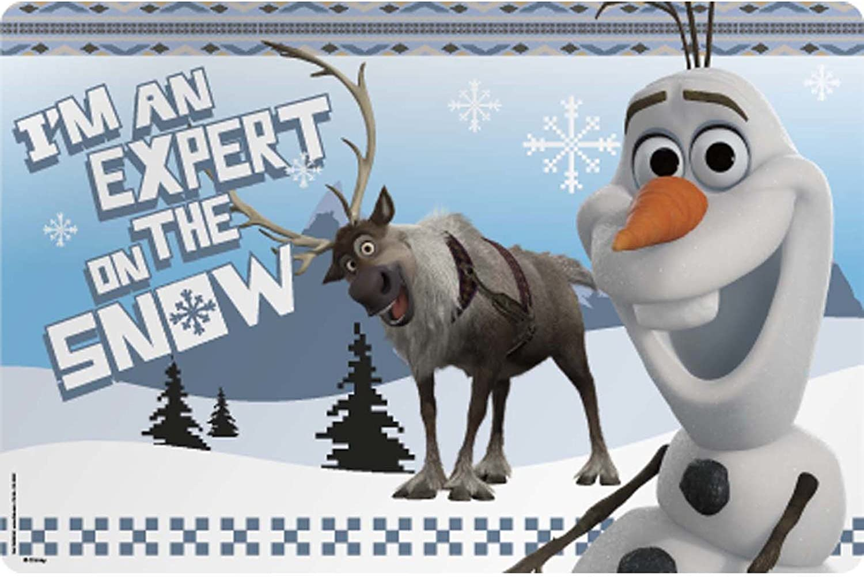 Zak Designs Disney Frozen Kid's Placemat, Set of 1, Olaf