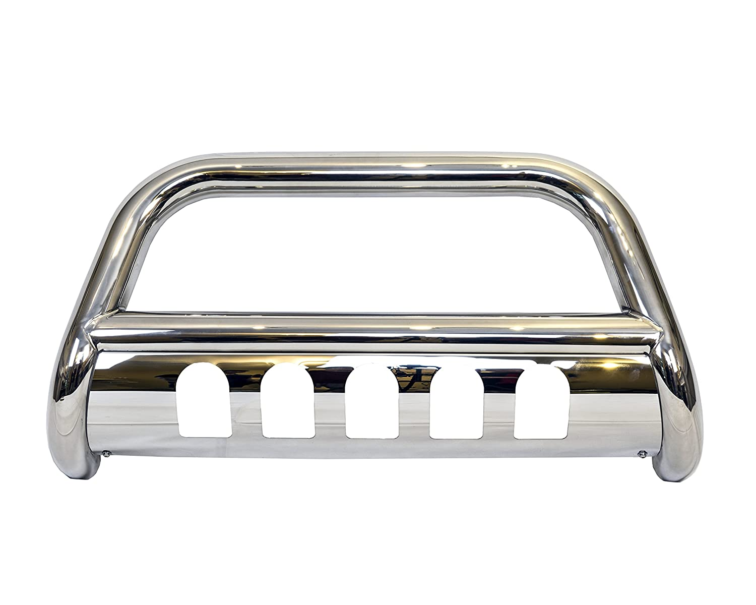 Galaxy Auto 3' Bull Bar for 2004-18 Ford F150 & 2003-17 Ford Expedition - Stainless Steel Bumper Grille Guard (Chrome)