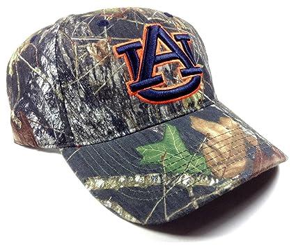 9b125790980 Amazon.com   Auburn Tigers Solid Mossy Oak Camo Hat   Sports   Outdoors